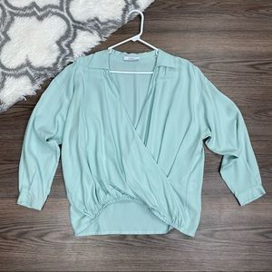A Line Crossover Blouse Size S/M